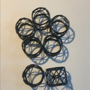 Other - Napkin rings set of 7